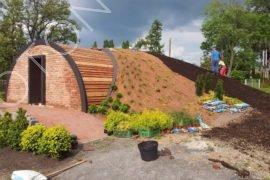 Terénní a zahradní úpravy vinného sklípku