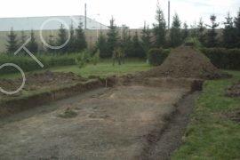 Příprava pozemku, zemní práce